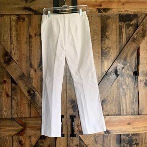 MaxMara Pants - MaxMara cream skinny dress slacks size 6!